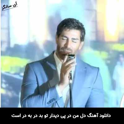دانلود آهنگ دل من در پی دیدار تو بد در به در است رضا ملک زاده